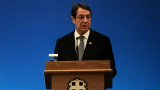 Τη βεβαιότητα ότι θα επανενωθεί η Κύπρος μέχρι το 2018 εξέφρασε ο Ν.Αναστασιάδης