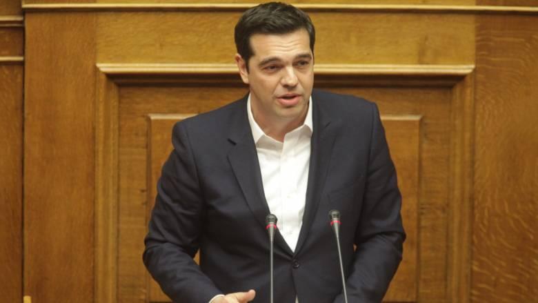 Ο Αλέξης Τσίπρας στη διάσκεψη των Δωρητών για τη Συρία