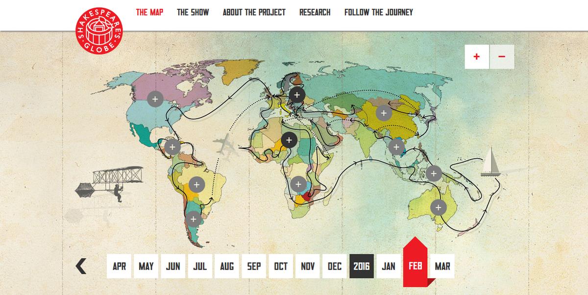 Globe Calais The Map Globe to Globe 2016 02 05 19.52.42