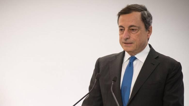 Ντράγκι: Δυνάμεις στην παγκόσμια οικονομία συνωμοτούν για να κρατήσουν χαμηλά τον πληθωρισμό