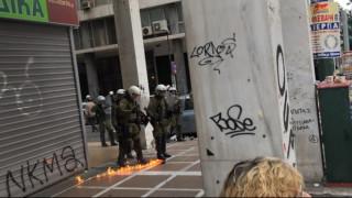 Απεργία 4 Φεβρουαρίου: Ένταση με ΜΑΤ και αντιεξουσιαστές