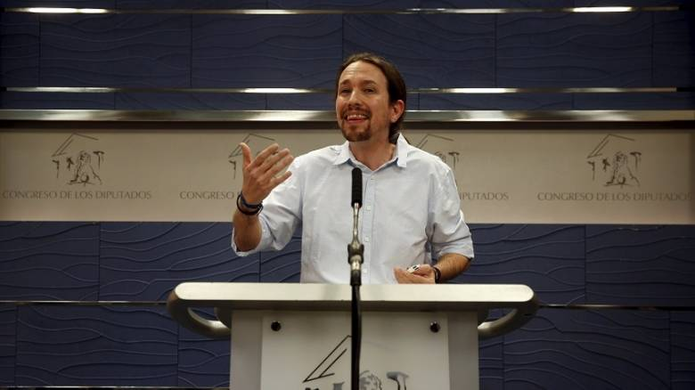 Στη δεύτερη θέση οι Podemos σύμφωνα με δημοσκόπηση