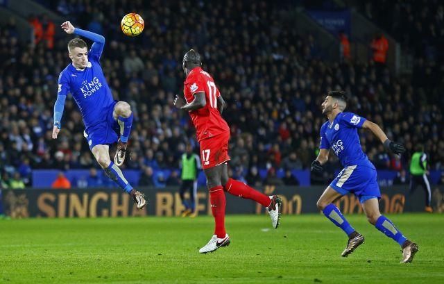 Leicester-Liverpool 2-0 premier league