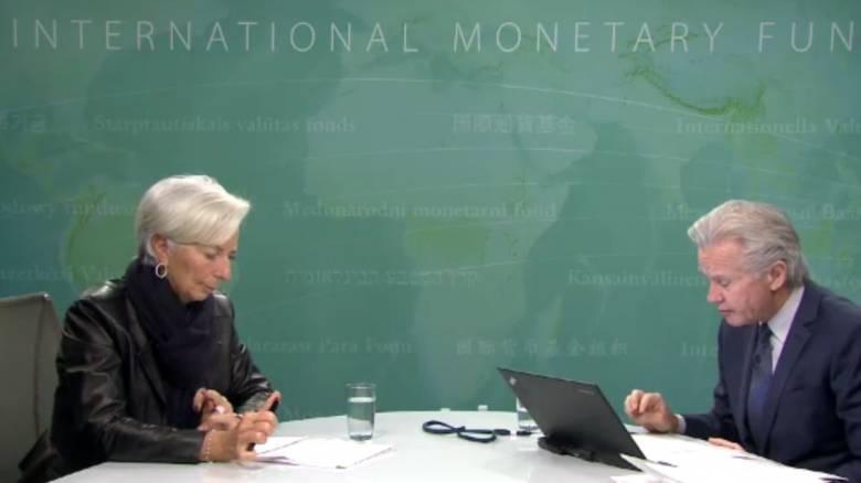 Λαγκάρντ: Η Ελλάδα πρέπει να επιτύχει στην πραγματική ζωή όχι στα χαρτιά