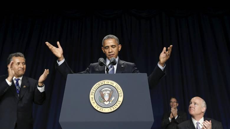 Ο Μπαράκ Ομπάμα κατηγορεί τους Ρεπουμπλικανούς ότι σπέρνουν τον φόβο
