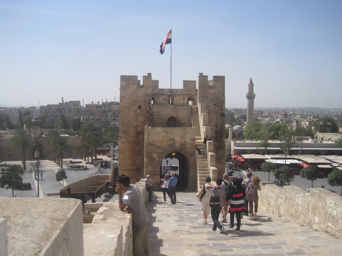 Aleppo castle 2010