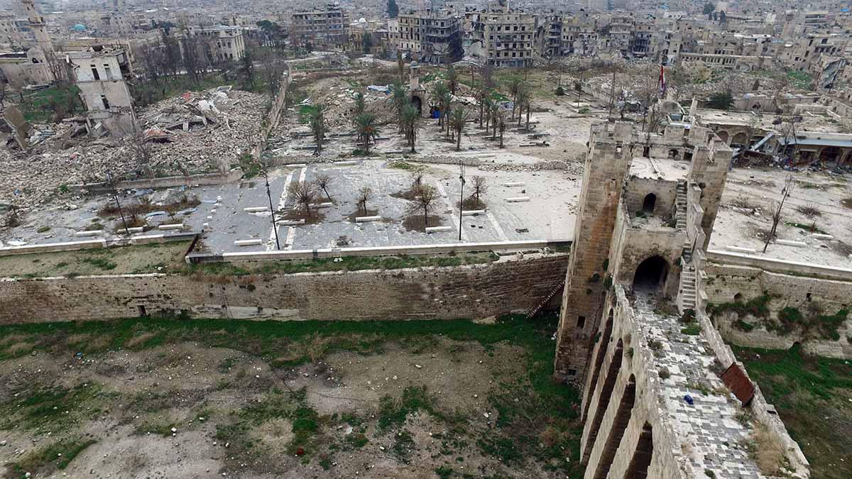 Aleppo castle 2016