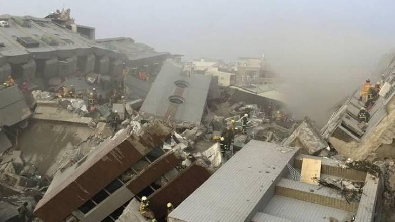 Στους 12 οι νεκροί από τον σεισμό στην Ταϊβάν