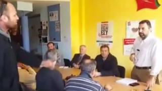 Αγροτικές κινητοποιήσεις: Εισέβαλαν στα γραφεία του ΣΥΡΙΖΑ αγρότες της Σπάρτης
