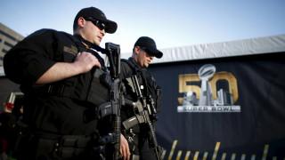 Ο εφετινός τελικός του NFL έχει κινητοποιήσει τις Αμερικανικές δυνάμεις ασφαλείας