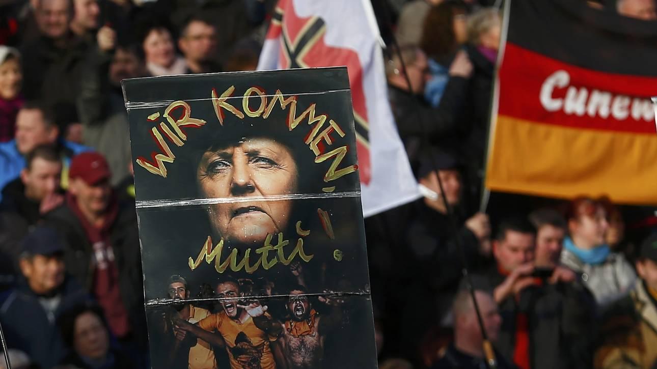 Συγκεντρώσεις χιλιάδων ανθρώπων κατά των μεταναστών σε 14 ευρωπαϊκές πόλεις