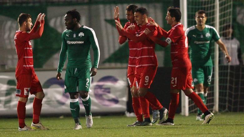 Ο Παναθηναϊκός έχασε 1-0 μέσα στην Λεωφόρο από την Ξάνθη για το πρωτάθλημα