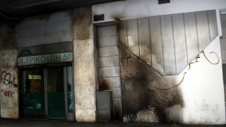 Νέα επίθεση στα γραφεία του ΠΑΣΟΚ το βράδυ του Σαββάτου