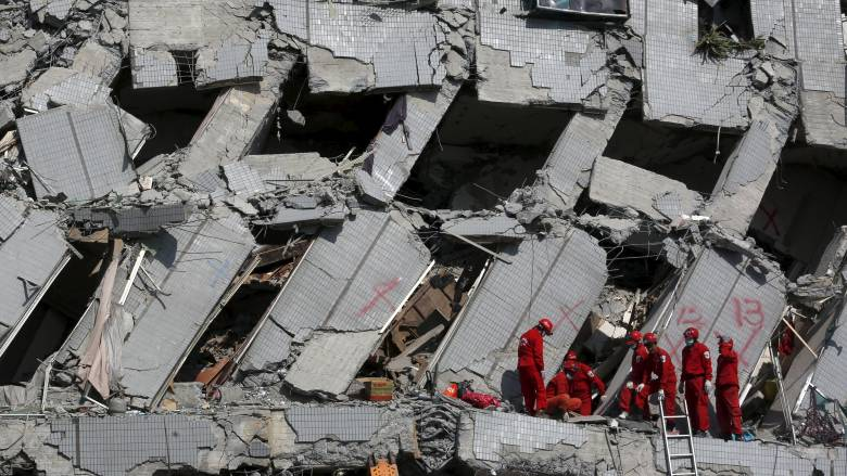 Σεισμός στην Ταιβάν: Στους 26 οι νεκροί - 120 οι εγκλωβισμένοι