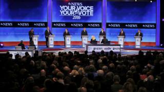 Τεταμένο κλίμα στο ντιμπέιτ των υποψήφιων για το χρίσμα των Ρεπουμπλικανών