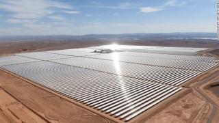 Η μεγαλύτερη ηλιακή μονάδα του κόσμου βρίσκεται στο Μαρόκο