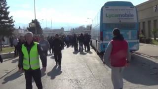 Μπλόκα αγροτών: Νέα ένταση στον Προμαχώνα -  Αντίποινα Βούλγαρων με μπλόκο