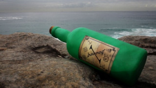 Σύγχρονο Message in a bottle έφτασε από τις Μπαχάμες στη Σκωτία
