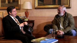 Συνάντηση Καμίνη - Μπούτα για τα τρακτέρ που έρχονται στην Αθήνα