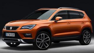 Όλοι SUV: Το νέο τζιπ της Seat λέγεται Ateca και είναι το πρώτο χιλιάρι της κατηγορίας