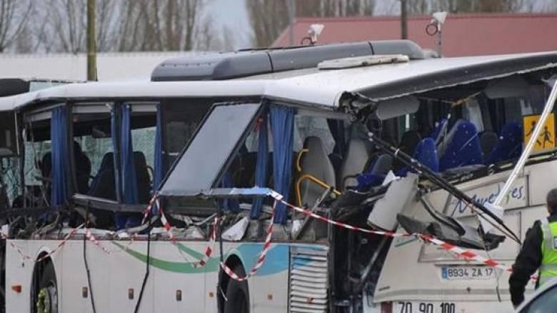 Γαλλία: Έξι μαθητές νεκροί σε σύγκρουση σχολικού με φορτηγό