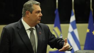 Δήλωση Καμμένου μετά τη σύνοδο του ΝΑΤΟ