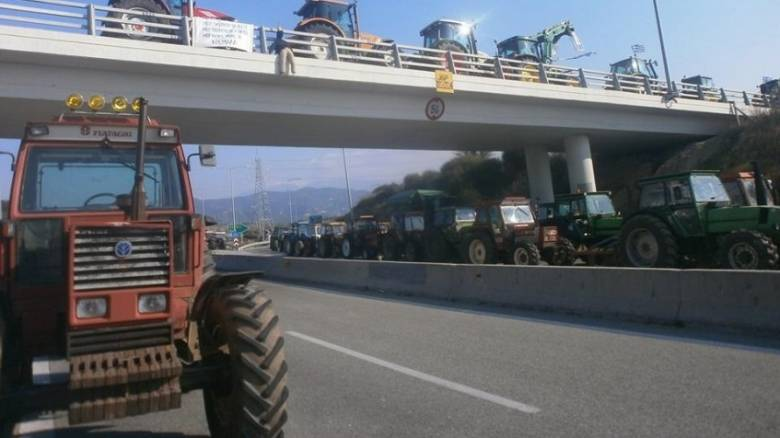 Μπλόκα αγροτών: Η κάθοδος των Σερραίων στην Αθήνα