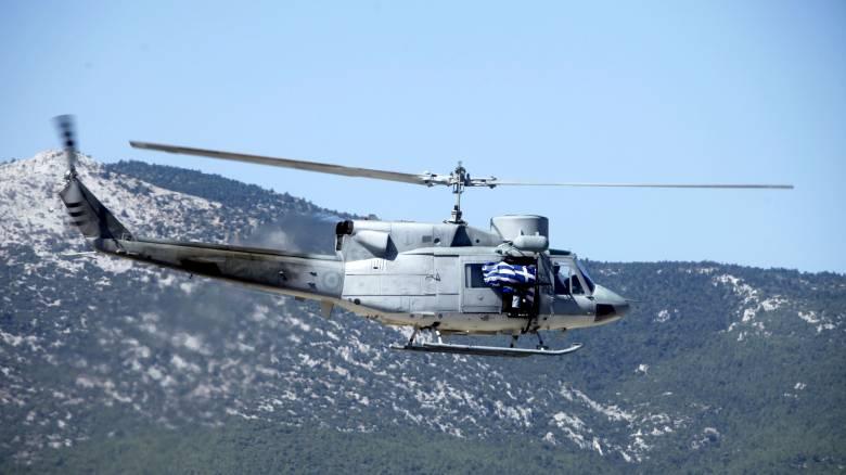 Ταυτοποιήθηκαν οι σοροί των δύο πιλότων του ελικοπτέρου που συνετρίβη