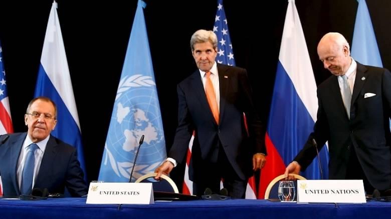 Συμφωνία για παύση των εχθροπραξιών στη Συρία