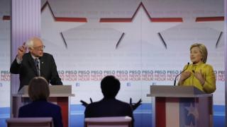 Σάντερς - Κλίντον στην έκτη τηλεμαχία των Δημοκρατικών