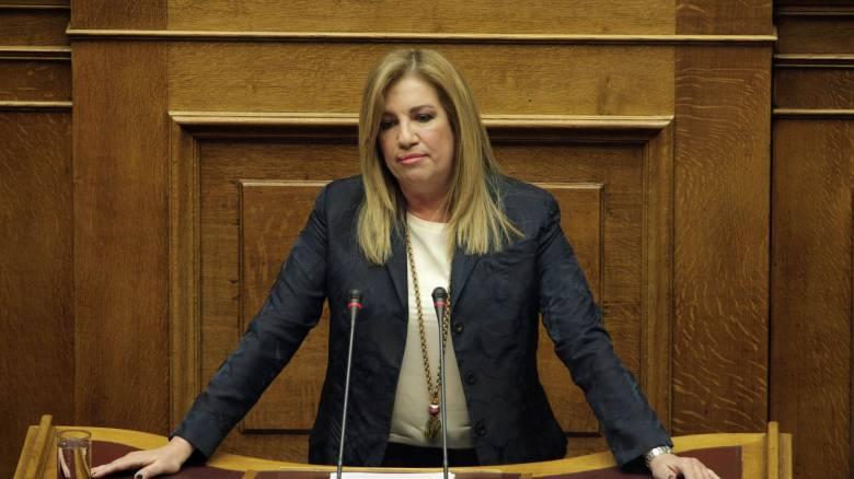 Βουλή: Φώφη Γεννηματά για αγροτικό και νέα βόμβα Τόμσεν