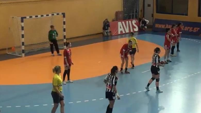 Διακόπηκε ο αγώνας Κυπέλλου χάντμπολ γυναικών ΠΑΟΚ-Αμύντα, λόγω επεισοδίων