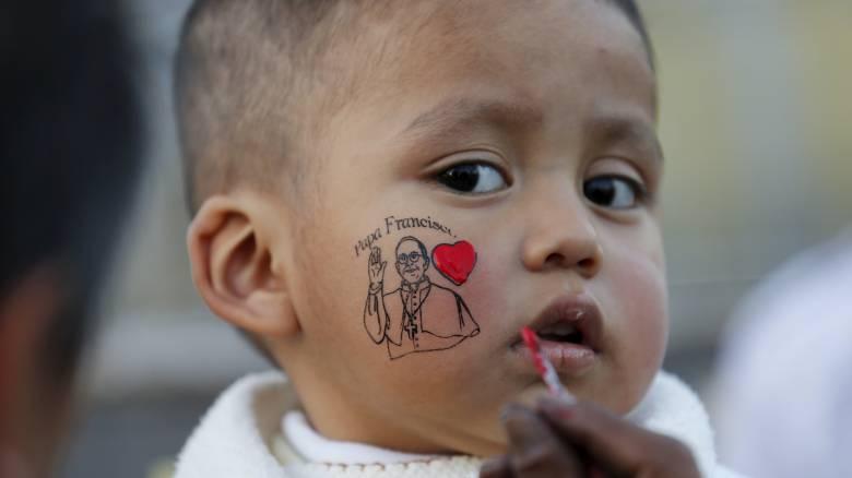 Υποδοχή Μεσσία επεφύλαξαν οι Μεξικανοί στον Πάπα