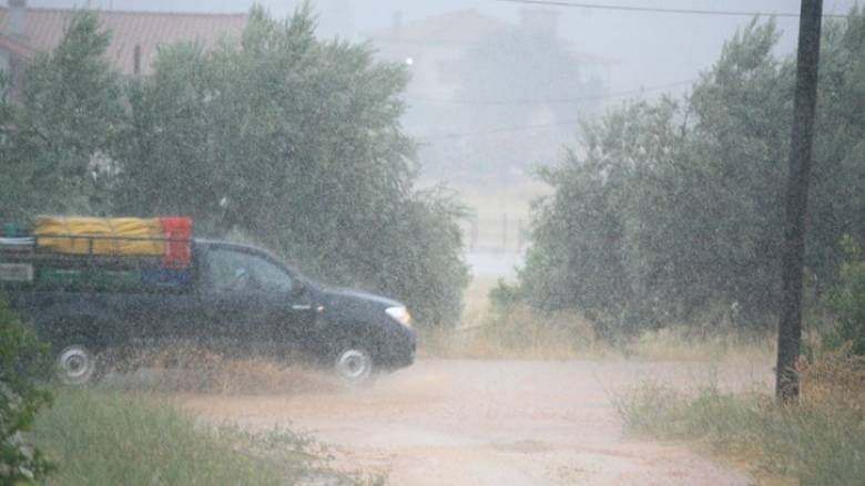 Ναύπλιο: Ζημιές και διακοπή ρεύματος από την κακοκαιρία