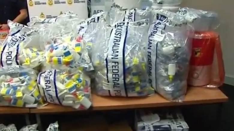 Μεθαμφεταμίνη αξίας 1 δις ήταν κρυμμένη σε στηθόδεσμους