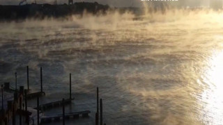 Τοπίο στην ομίχλη για… ερωτευμένους