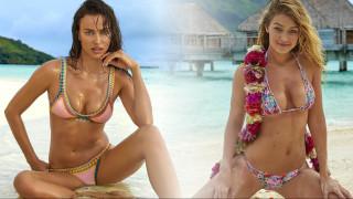 Ιρίνα Σάικ εναντίον Gigi Hadid. Ποια ζει το καλοκαίρι καλύτερα στο νέο Sports Illustrated 2016;