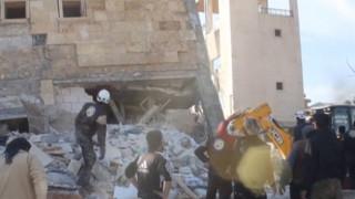 Τραγικός ο απολογισμός από τους βομβαρδισμούς στη Συρία