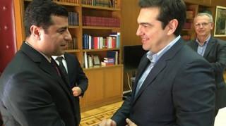 Οι νέοι ηγέτες των Κούρδων στην Αθήνα 17 χρόνια μετά τη σύλληψη Οτζαλάν