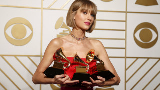 Tέιλορ Σουίφτ η μεγάλη νικήτρια στα Grammys 2016