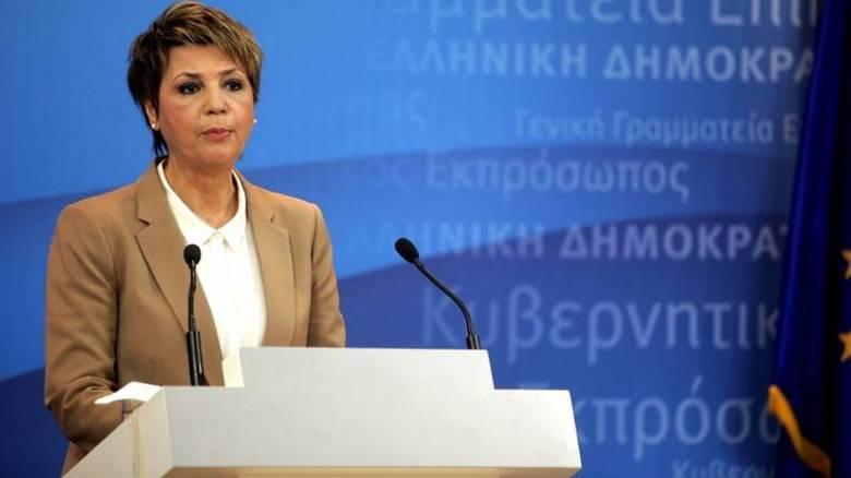 Όλγα Γεροβασίλη: ούτε βήμα πέρα από την συμφωνία του Αυγούστου
