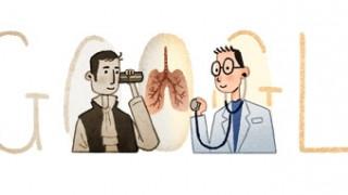 Ρενέ Λενέκ: Doodle για τα 235 χρόνια από τη γέννηση του εφευρέτη του στηθοσκοπίου