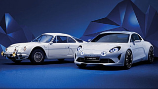 H Alpine Vision προλογίζει το νέο σπορ μοντέλο της Renault