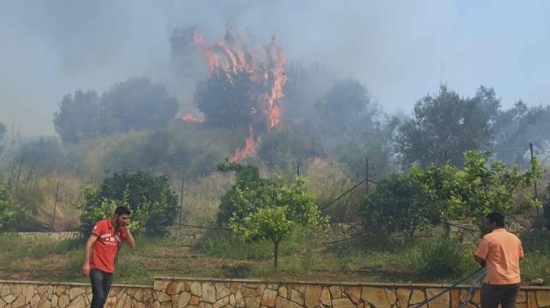 Υπό έλεγχο τίθεται η πυρκαγιά στη Μεσσηνία