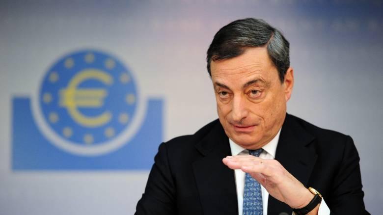 Ντράγκι: H Τράπεζα της Ελλάδος έχει αγοράσει ομόλογα ύψους 16,3 δισ. ευρώ στο πλαίσιο του QE