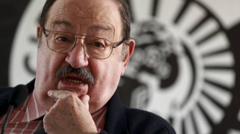 Έφυγε από τη ζωή ο Ιταλός φιλόσοφος Ουμπέρτο Έκο σε ηλικία 84 ετών