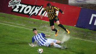 Σε μια «λασπομαχία» στην Θεσσαλονίκη Ηρακλής και ΑΕΚ μοιράστηκαν γκολ και βαθμούς