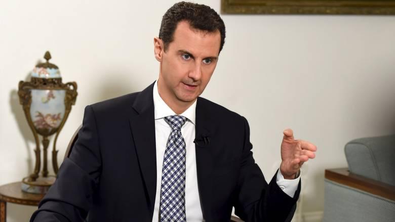 Έτοιμος για ανακωχή δηλώνει ο Άσαντ