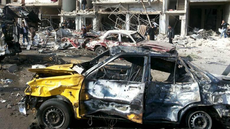 Πολλαπλές εκρήξεις με δεκάδες νεκρούς στη Δαμασκό - Το Ισλαμικό Κάτος ανέλαβε την ευθύνη