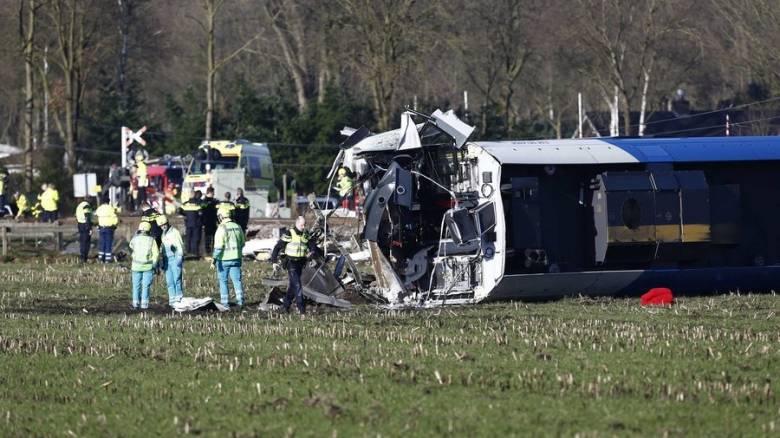 Εκτροχιασμός τρένου με θύματα στην Ολλανδία